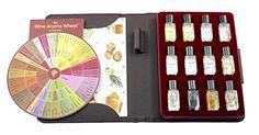 Wine Faults Aroma Kit – 12 Aromas (incl. Wine Aroma Wheel)