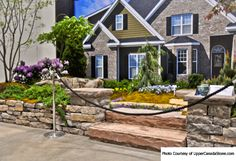 """J Garfield Thompson Landscape: Asian Influence Re/Max """"Get Curbalicious"""" Picture from Upper Canada Stone"""