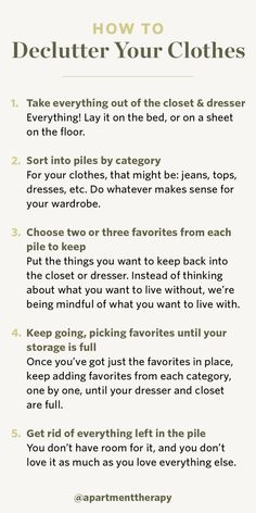 An Uncluttered Closet Begins With One Simple Step Decluttering the Closet - September Sweep 2019