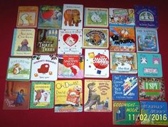 Board books 26 Toddler Preschool Oh, David! Goodnight Moon The Hat I Spy