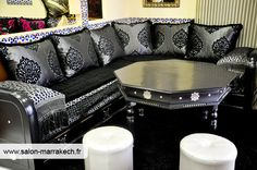 1000 images about salon marocain on pinterest salon for Salon marocain nice