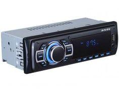 "Som Automotivo Naveg NVS 3068 Tela 2,4"" - MP3 Player Rádio FM Entrada USB SD Auxiliar"