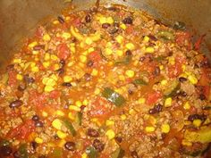 A Foodie Fairytale: 1 Point Chili Recipe (4 for 2 cups)