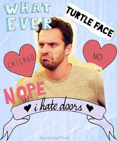 The perfect Nick Miller collage.