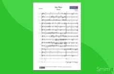 Star Wars (John Williams) - Partitura gratis per orchestra di Scuola Media ad Indirizzo Musicale - Free Sheet Music