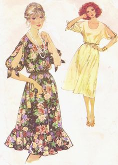 1970s Simplicity Sewing Pattern 8586 Womens by CloesCloset on Etsy, $11.00