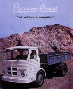 Los Clásicos industriales españoles - ForoCoches Industrial, Vintage Cars, Classic Cars, Trucks, Cars, Classic Trucks, Cars Motorcycles, Old Advertisements, Pegasus