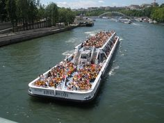 Les Bateaux Mouches in Paris; Book a France River Cruise with TravelStore Travel Expert Phyllis Baggesen http://travelstore.com/our-travel-experts/phyllis-baggesen