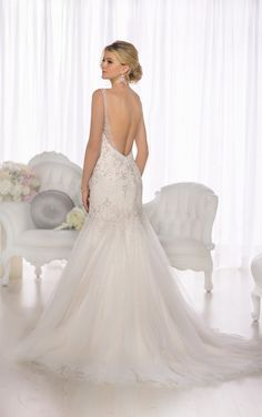 D1686 Most Beautiful Wedding Dresses by Essense of Australia