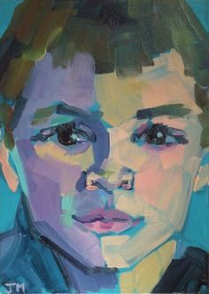 Jessica Miller Paintings: Half-Hour Portraits