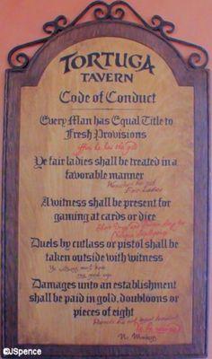 Tavern Rules