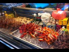 Asian cooking-phnom penh Street food/Beef Stick,fried fish,grilled frog,...