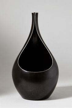 Vase Pungo designed by Stig Lindberg for Gustavsberg, Sweden. 1950's. —…