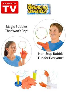 Mr. Gadget Solutions® High Quality and Improved Magic Bouncing Juggling Bubble…