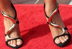 "Mel B at Makes a Spice Girls Reference at ""America's Got Talent"" Kickoff in Giuseppe Zanotti Sandals"
