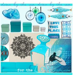 """""""for the love of turquoise.."""" by vervetandhowler on Polyvore"""