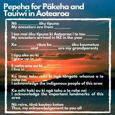 Maori Words, New Zealand Adventure, New Zealand Houses, Maori Designs, Early Childhood Education, Classroom Resources, Personal Development, Random Things, Growing Up