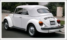 Love my 1979 Super Beetle ... isn't it pretty?