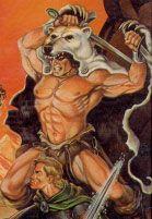 Harrek el Berserk   Runeblog  Ilustración de Steve Purcell en Glorantha: el mundo y sus habitantes