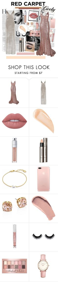 """Red Carpet Fashion👗"" by lara-fashion22 ❤ liked on Polyvore featuring Nicki Minaj, Burton, Boohoo, Lime Crime, Kevyn Aucoin, Christian Dior, Burberry, Missoma, Tory Burch and Victoria's Secret"