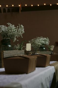 French country picnic wedding reception