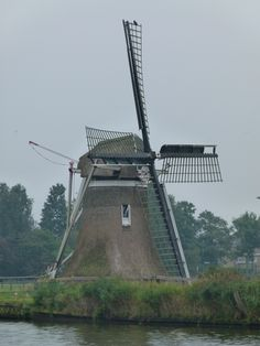 Old Windmills, Le Moulin, Dutch, Gem, City, Winter, Windmills, Europe, Lugares