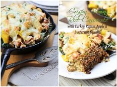 Crispy Cheesy Baked Rice Casserole | by Sonia! The Healthy Foodie