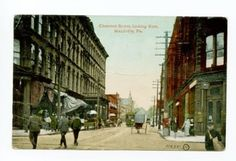 Chestnut Street Meadville Pennsylvania 1911