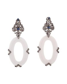 Silvia Furmanovich Sapphire & Agate Drop Earrings