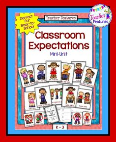No Prep, just print and go. The anchor charts and booklet are a perfect fit for the K-3 classroom, Responsive Classroom and Positive Behavior Intervention.