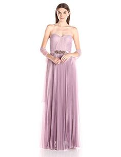 Adrianna Papell Women's Strapless Tulle Long Gown with Beaded Waist, Light Heather, 10 Adrianna Papell http://www.amazon.com/dp/B019IXY4WY/ref=cm_sw_r_pi_dp_mDL0wb1CHQEY4