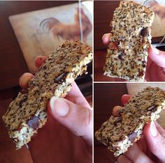 Grab and Go Keto Granola Bars !