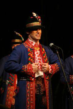Lachy Sądeckie men's costume, Poland