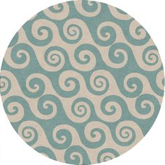 Jaipur CI12 Coastal Living I-O #Wave Hello - Indoor-Outdoor Area #Rug, #decor