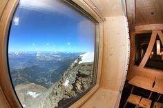 Le refuge du Goûter ouvre ses portes à près de 4000 mètres10 Refuge, Shipping Container Homes, Nests, Airplane View, Tiny House, Tourism, Cozy, Tech, France