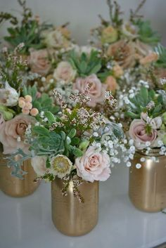 13 Most Beautiful Mason Jar Centerpieces                                                                                                                                                     More