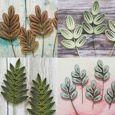 quilling leaf #quilling#paperquilling#quillingart#quillingleaf #papercrafts #paperleaf#leaf#paperart#handmade #종이감기#종이감기공예#종이공예#나뭇잎#핸드메이드