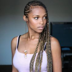 Tribal Braids One side braids a.k.a (beyounce's braids), this braid style is not only trending it also gives you the oval face look. Tried it before with black extensions? I really think you …