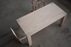 CAPRICE.11 #solid wood design legno massello tavolo