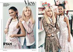 Streeters - News - Teen Vogue March 2015 - Ryan Lo New Teen, Teen Vogue, March, London, News, Design, London England, Mac