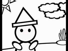 ▶ Mein Hut, der hat drei Ecken - Kinderlied