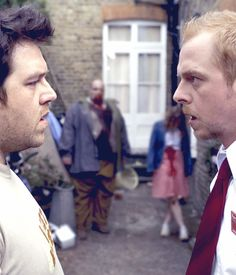 Shaun Of The Dead, film, 2000s, 2004, zombies, monsters, simon pegg, nick frost