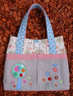 Flower Garden Sewing Pattern from Melly & Me