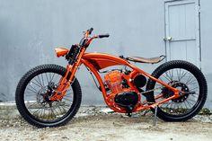 1981 Kawasaki Z200 - DariztDesign - Pipeburn - Purveyors of Classic Motorcycles, Cafe Racers & Custom motorbikes
