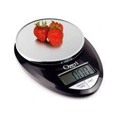 Kitchen Digital Pro Food Scale Ozeri 1g 12 Lbs Capacity Black Stylish New Chrome