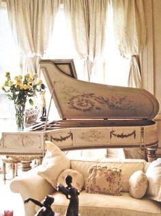 lovely grand piano http://pinterest.com/cameronpiano
