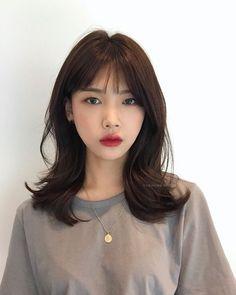 Medium Hair Cuts, Long Hair Cuts, Medium Hair Styles, Long Hair Styles, Medium Asian Hair, Permed Hairstyles, Cool Hairstyles, Korean Hairstyles Women, Japanese Hairstyles