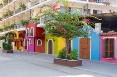 Puerto Vallarta, Mexico  From: The 24 Most Colorful Cities In The World