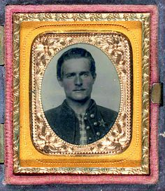 My Daguerreotype Boyfriend, Unidentified Soldier, c. 1860's Submitted by...