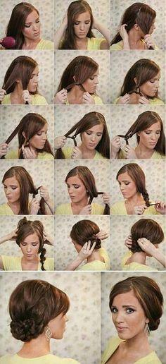 DIY Formal Hairstyles